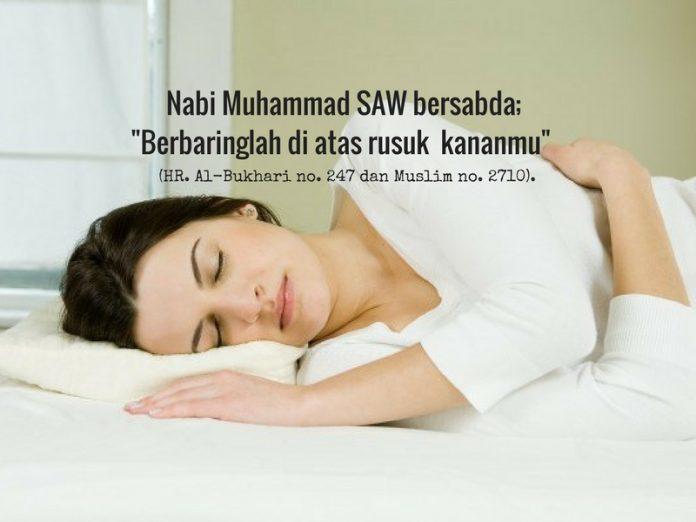 tidur mengiring