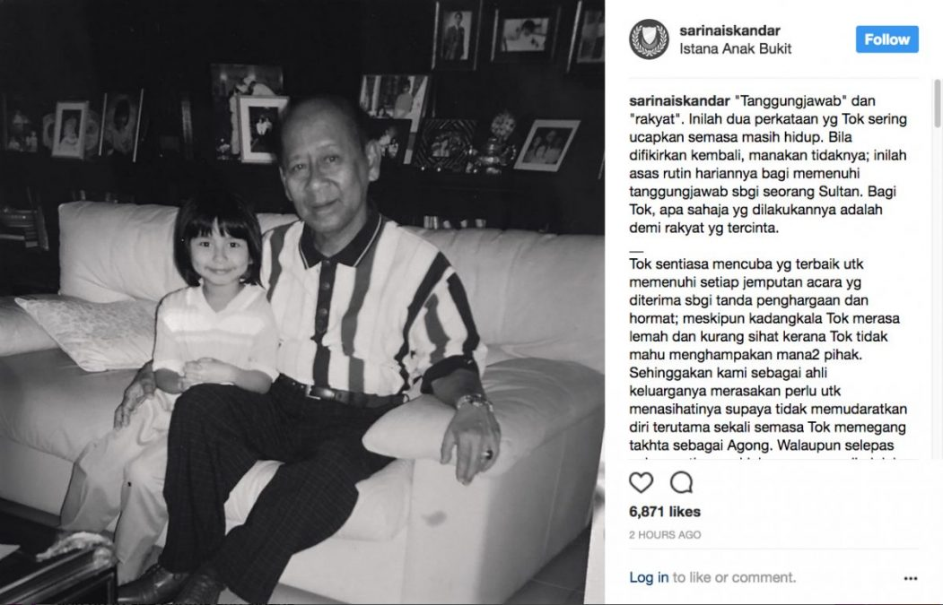 cucu almarhum sultan kedah