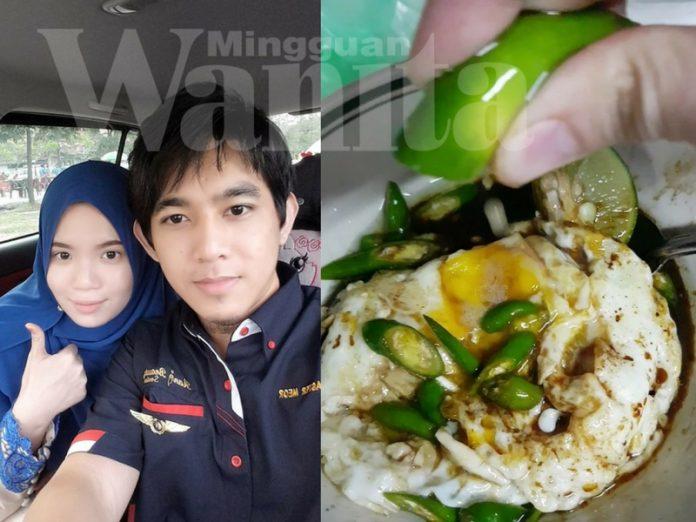 telur juicy spicy viral