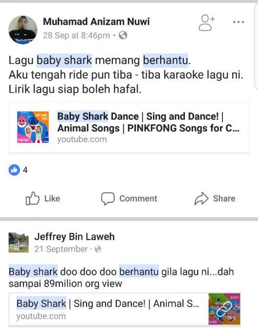 baby shark lagu berhantu