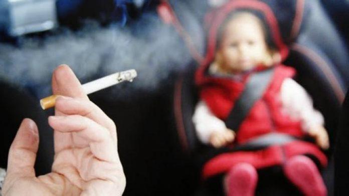 jangan cium anak lepas merokok