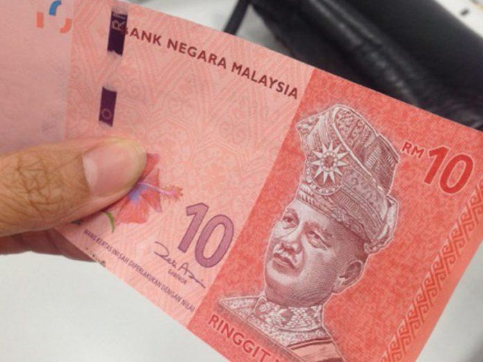 duit tinggal RM10