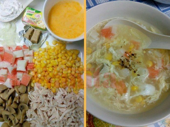 sup jagung