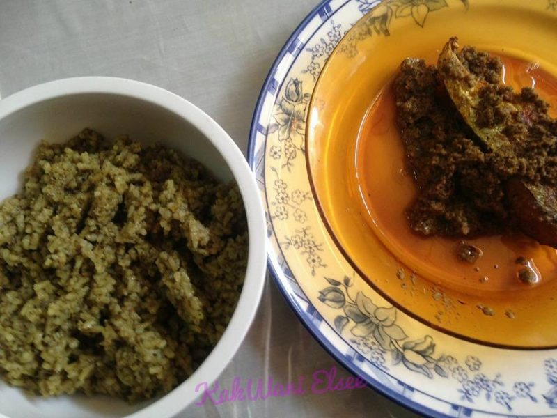 nasi lemuni untuk ibu tamat berpantang