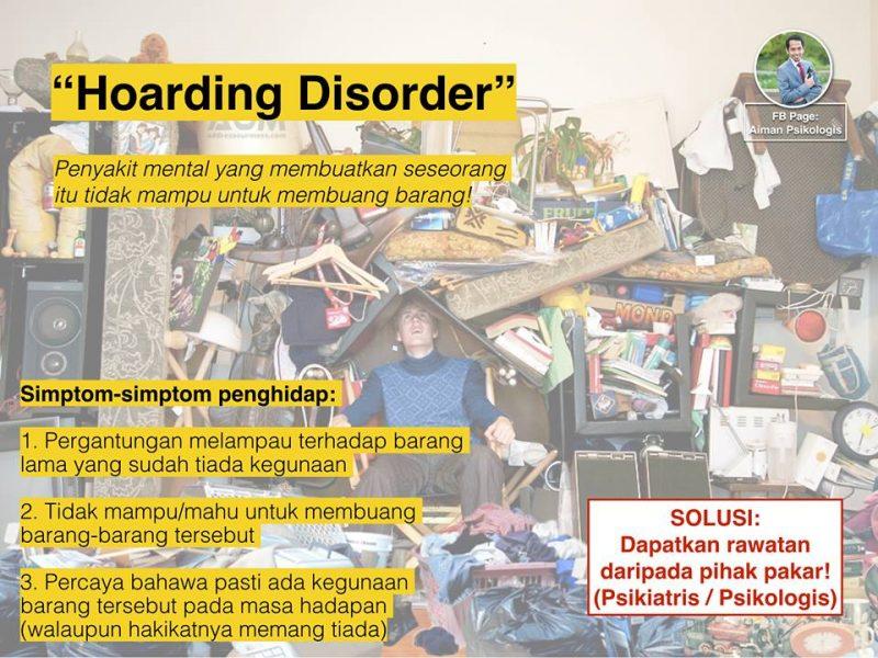 tanda penyakit mental hoarding disorder