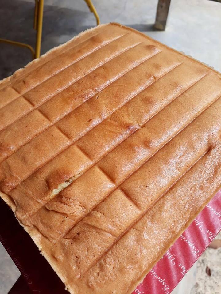 Classic Butter Cake Kek Mak Mak Paling Senang Nak Buat