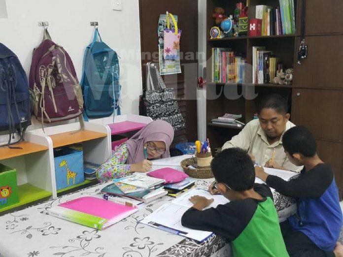 Buang Jeritan Mahu Pun Paksaan, Nak Anak Tekun Ciptalah Roh Belajar Dalam Rumah Sendiri