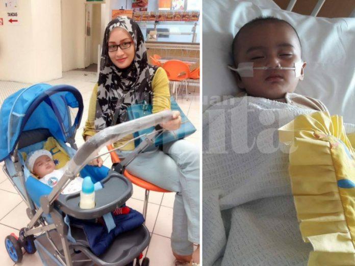 Setahun Jaga Ayish Di Hospital, Tekanan Darah Tinggi Dan Virus C.R.E Hampir Buat Anaknya Lumpuh