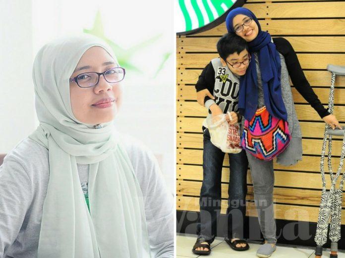3 Hari Di Asrama, Anak Autisme Ini Beri Kejutan Pada Ibu Cekal Diuji Kanser Tulang