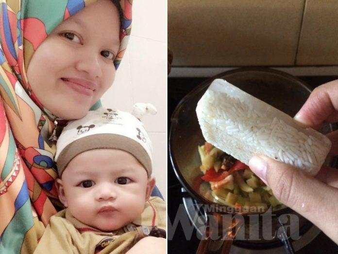 Cuma 7 Minit Masak Bubur Beras Beku, Jimatkan Masa Mak-mak Bekerja Ada Anak Kecil