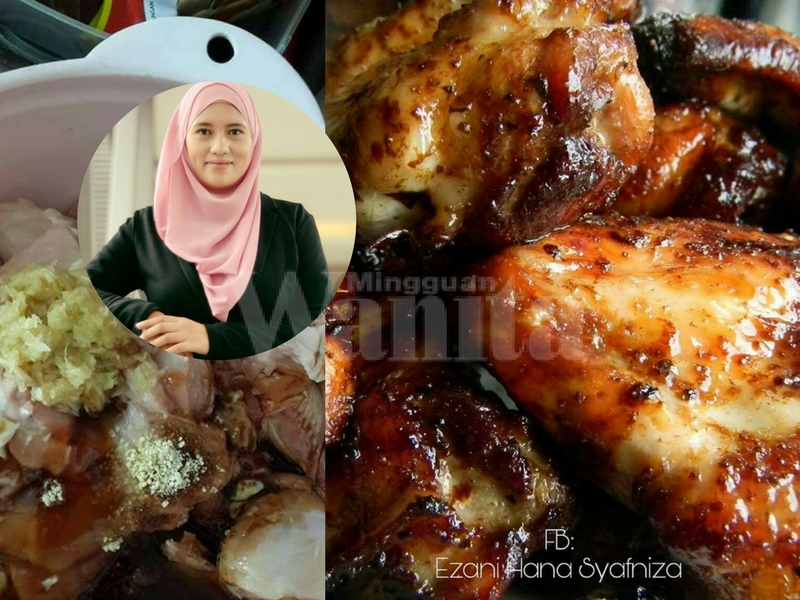 Resipi Jilat Jari Ayam Perap Mayo Digoreng Boleh Dibakar Lagi Sedap Mingguan Wanita