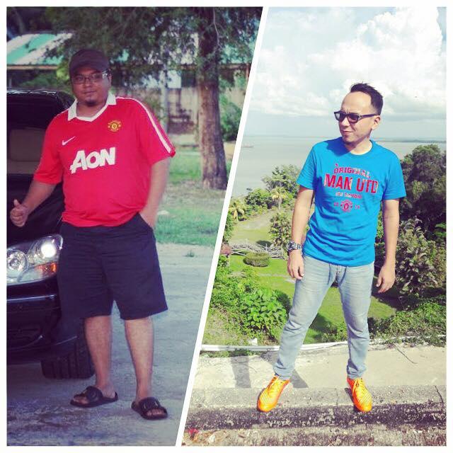 Pesakit Gout Set Goal Turun Berat Dari XL Ke XS, 21 Tip Diet Kalori Ini Berjaya Buang 37KG Dalam 6 Bulan