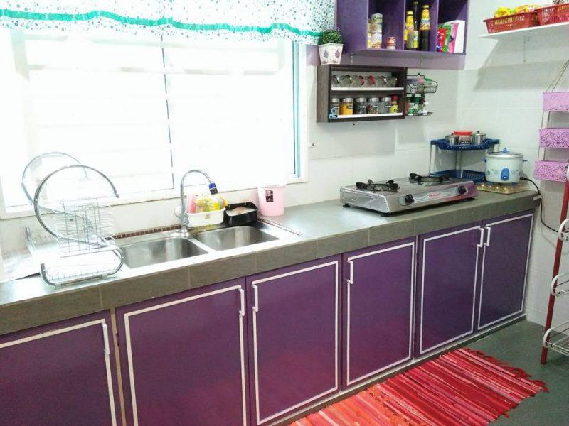 Cuma 2 Minggu Siapkan DIY Pintu Kabinet Dapur Bajet, Kata Suami Isteri Ini Modalnya RM250