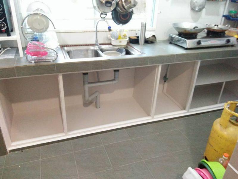 Cuma 2 Minggu Siapkan Diy Pintu Kabinet Dapur Bajet Kata Suami Isteri Ini Modalnya Rm250 Mingguan Wanita