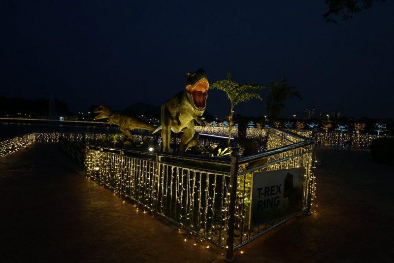 Cantik Bercahaya Malam Di 99 Wonderland Park, Dekat Sebulan Ini Masih Masuk Percuma