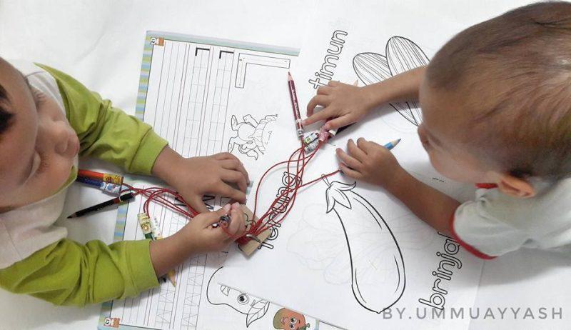 DIY Ikat Pensel Warna Ini Akan Senangkan Kerja Mak-mak, Tak Adalah Masalah 'Kaler' Hilang Dah