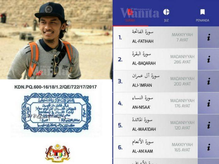 Lelaki Ini Kongsi Cara 'Download' Aplikasi Al Quran Secara Percuma, Yang Sahih Diiktiraf MCMC, KDN Dan JAKIM