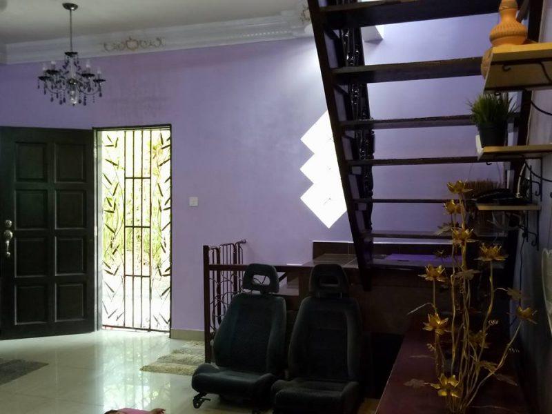 11 Tahun Berdikit-dikit Bina Banglo Untuk Mak, Sikit Lagi Nak Siap Pintu Syurganya Dijemput Ilahi