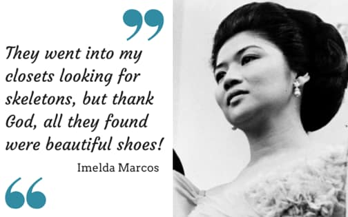 'Kalau Dia Suka Baju Tu, Dia Beli 10 Dozen Terus, Kalau Sebaliknya, Dia Tetap Ambil 5 Dozen' - Imelda Marcos