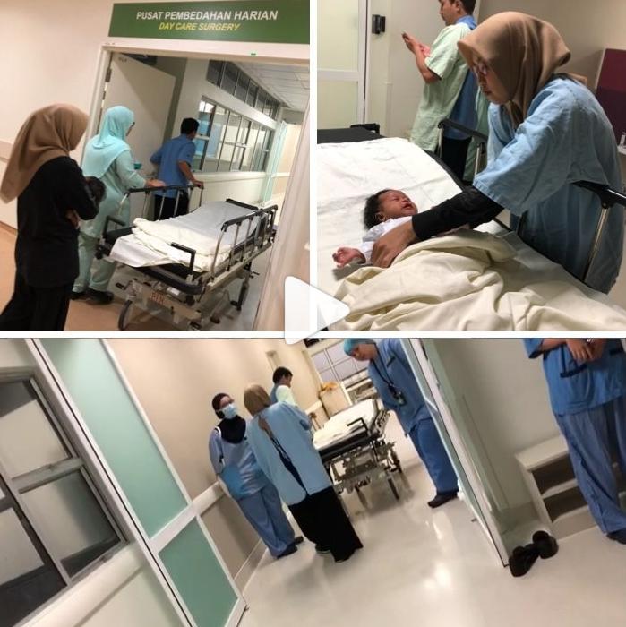 """Alhamdulillah Pembedahan Anak Saya Dah Selesai' Doa Lan Solo Untuk Baby Xandra Yang Makin Kiut Miut"