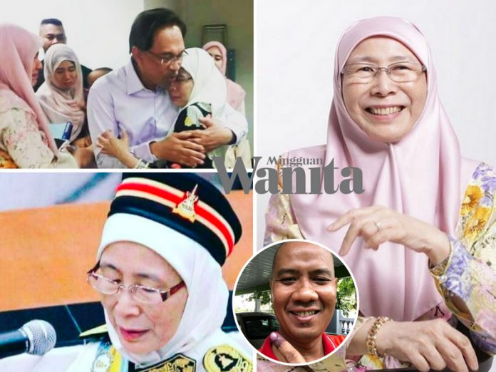 Selepas 20 Tahun Allah Hadiahkan Kemenangan Lebih Besar Atas Kesabaran Datuk Seri Dr Wan Azizah - Faizal FBI