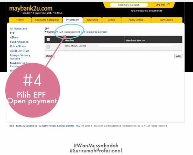 Rupanya Mak Mak Boleh Mencarum KWSP Sendiri Secara Online, Ikut 8 Langkah Ini