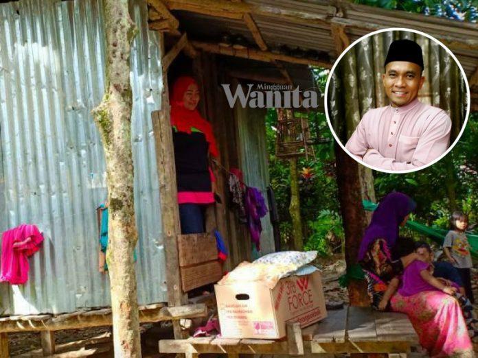 TERKINI : 7 Beranak Tinggal Dalam Rumah Bekas Kandang Kambing, Ada Yang 'Panas Punggung', Ini Respond Abang Raja