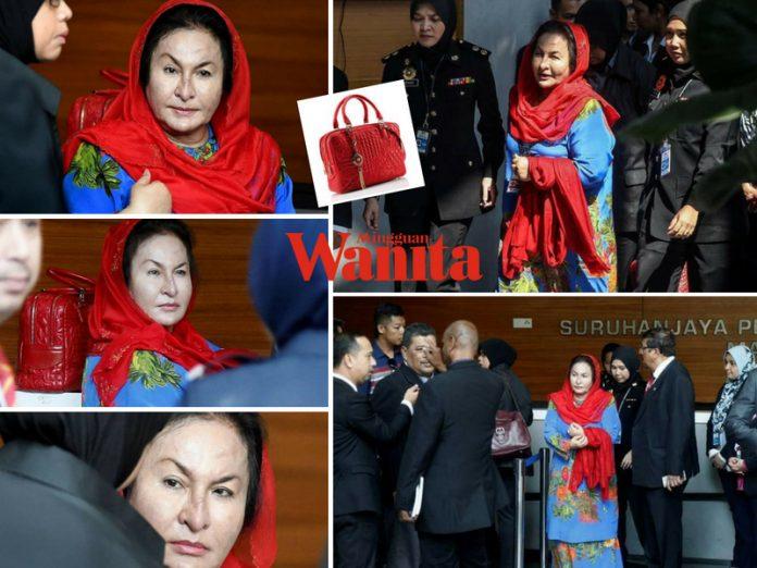 Datin Seri Rosmah Mansor Ke SPRM Beri Keterangan, Tapi Beg Tangan Merah Pula Jadi Bualan