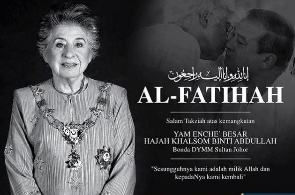 jenazah bonda sultan ibrahim