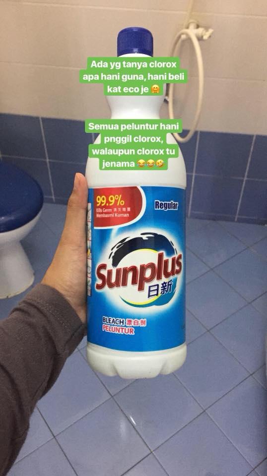 cuci toilet