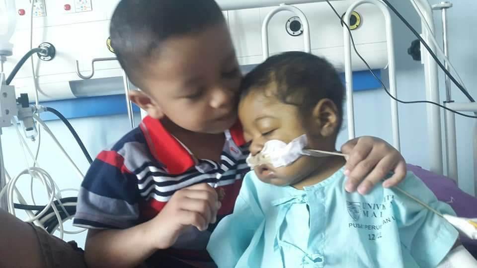 'Tolong Bantu Naufal..' Bayi 10 Bulan Ini Perlukan RM250,000 Segera Untuk Pembedahan Hati Di China