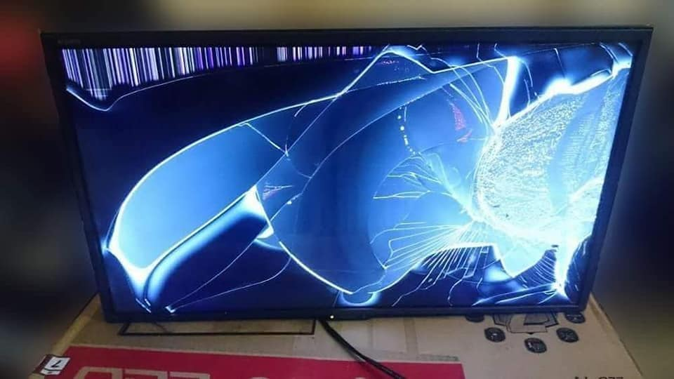 tv plasma rosak