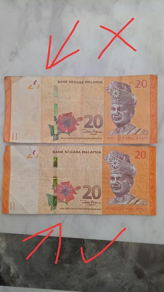 Balik Dari Kedai Runcit, Wanita Ini Tersedar Wang RM20 Dalam Dompet DUIT PALSU
