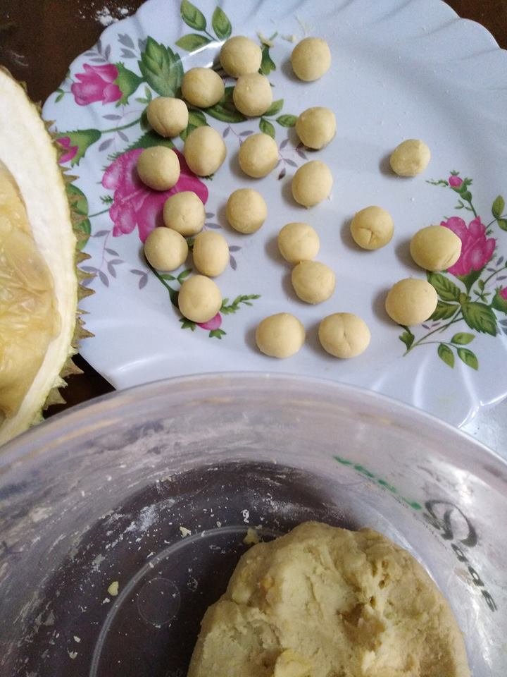 pengat bebola durian