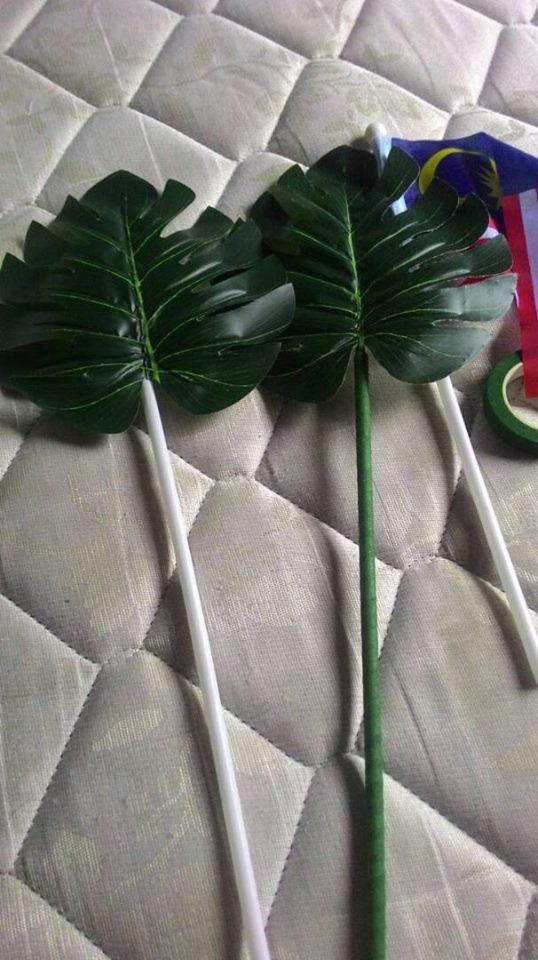 Nak Beli Mahal! Wanita Ini Buat Sendiri Pokok Monstera Cantik, Cuma Bermodal RM23