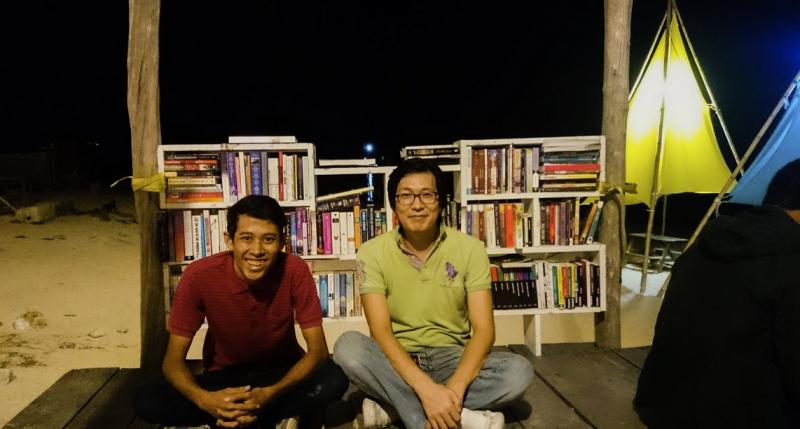 Bila Sampai Terengganu, Sila Ke Uptown Kontena Ada Panggung Pantai, Boleh Baca Buku & Tengok Movie Di Tepi Pantai