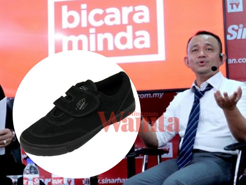 Image result for maszlee malik kasut hitam