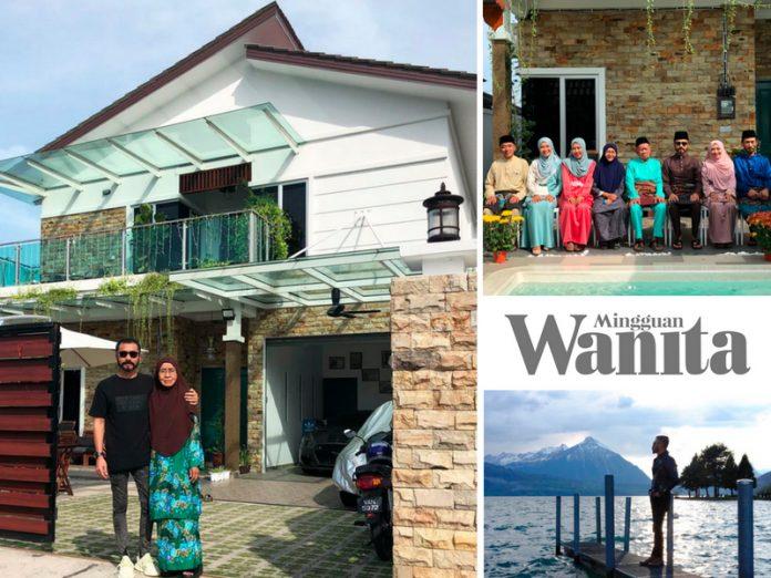 Dulu Duduk Rumah Buruk Beranai-anai, Hari Ini Doyok Hadiahkan Ibu Sebiji Banglo Khas
