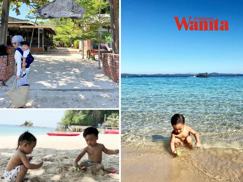 Tenang Bawa Anak Anak Kecil Bercuti Di Pulau Kapas Boleh Pergi Balik Hari Pun Iya Mingguan Wanita