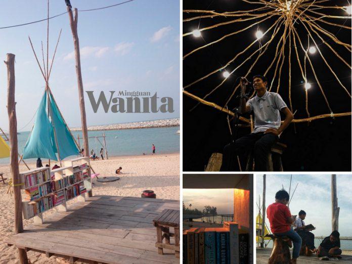 Bila Sampai Terengganu, Sila Ke Uptown Kontena Ada Panggung Pantai, Boleh Baca Buku & Tengok 'Movie' Di Tepi Pantai