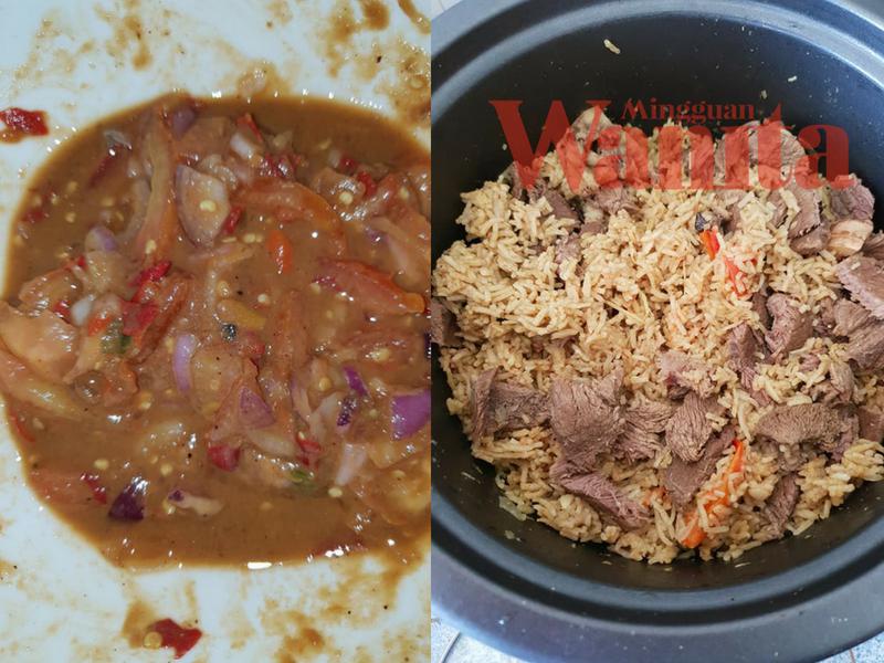 Nasi Daging Utara Rempah Nasi Daging Homemade Air Asam Kerisik Singgahsana Kitchen
