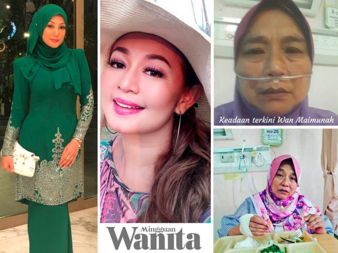 Erra Fazira, Jasmin Hamid Rayu Bantuan Untuk Wan Maimunah Yang Masih Dirawat Di Hospital