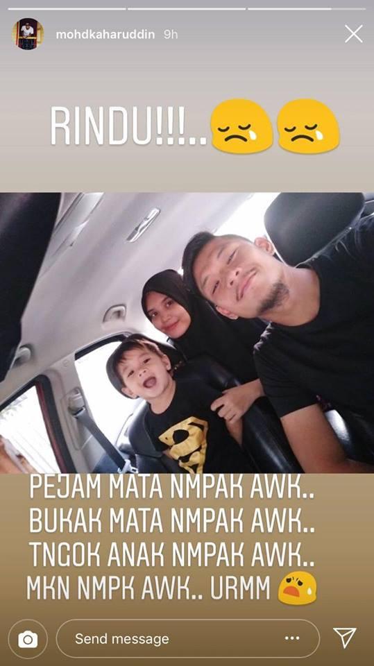 'Saya Reda Awak Bahagia Bersama Sumayyah' Anak & Isteri Penjaga Gol Negeri Sembilan Meninggal Lepas Bersalin