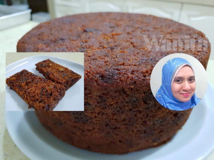 resipi kek kukus buah