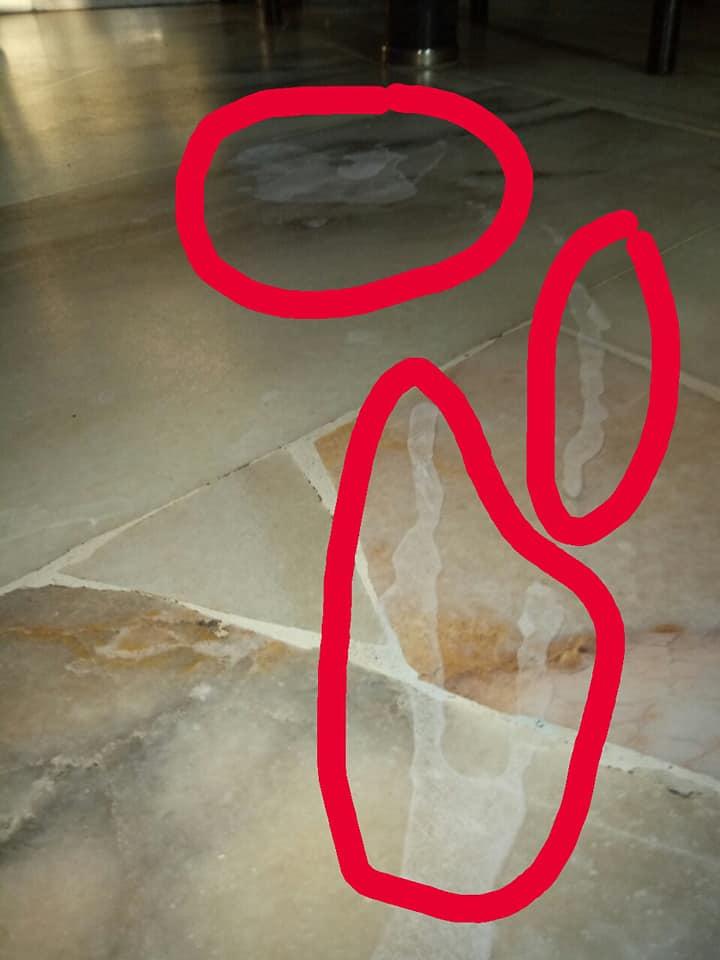 Seram! Minuman Spray Berperisa Tumpah Atas Lantai, Kesannya Macam Kena Clorox