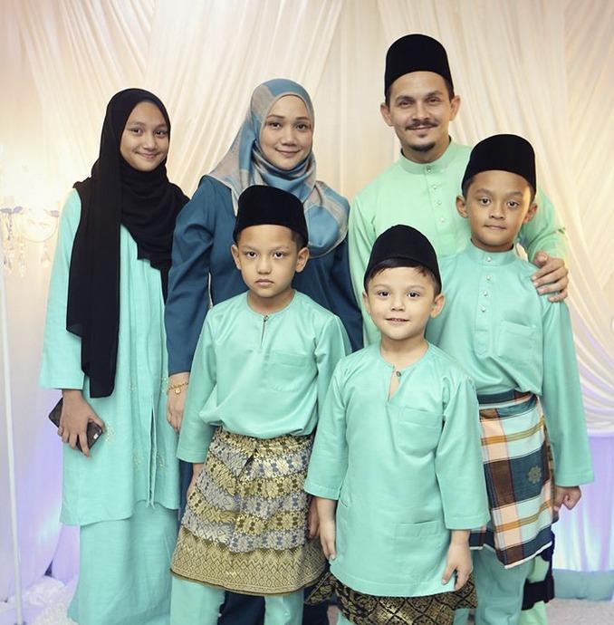 Sweet Cara Aidid Marcello Bahagiakan Isteri, Norzie Pak Wan Chek