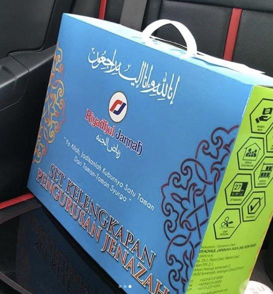 Hadiah Pakaian Akhir Rupanya Petanda Anak Chot Pulang Ke Kampung Abadi
