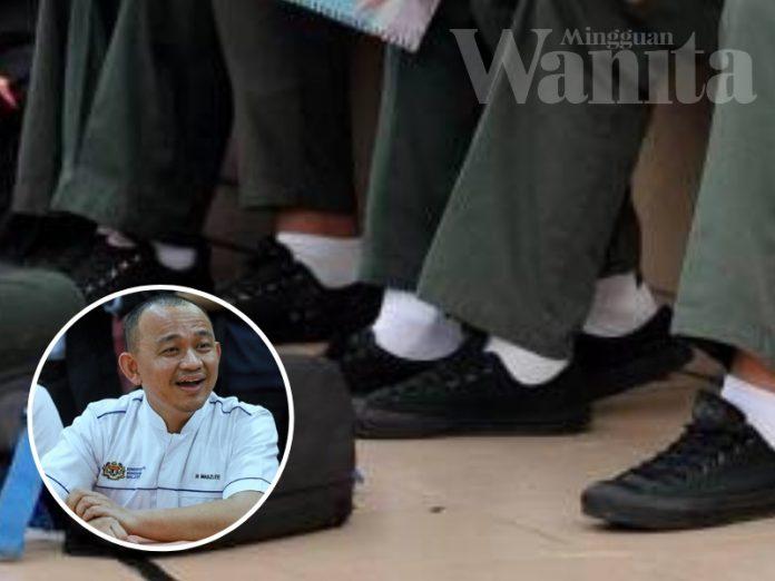 Selepas Kasut Hitam, Warna Stokin Pelajar Sekolah Pula Jadi Persoalan
