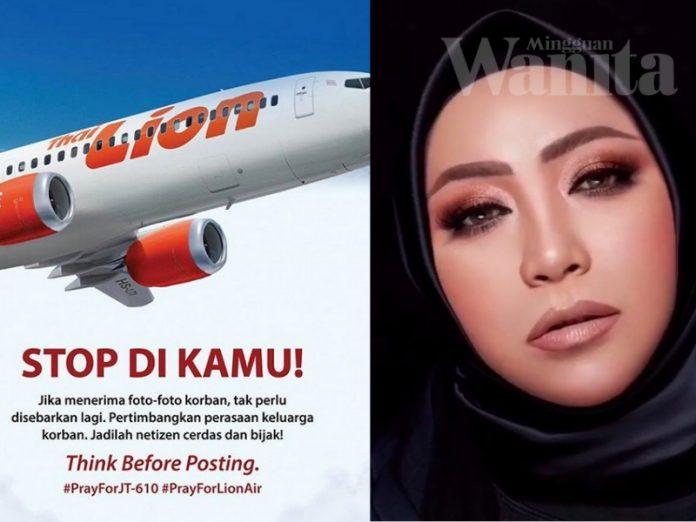 Doa Sabar Dari Melly Goeslaw, Mohon Netizen Hentikan Sebar Berita, Gambar Palsu