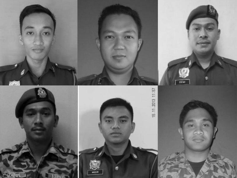anggota bomba maut